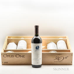 Opus One 1998, 5 bottles