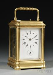 Grande Sonnerie French Brass Carriage Clock
