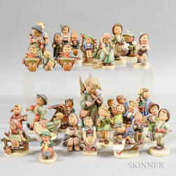 Approximately Thirty Hummel Figurines