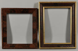 Two Large Early Picture Frames