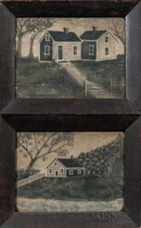 Pair of Small Sandpaper Pictures