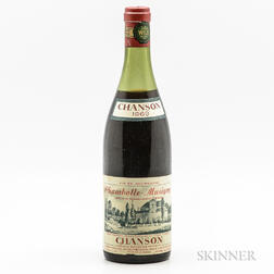 Chanson Chambolle Musigny 1969, 1 bottle