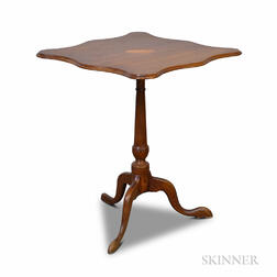 Federal-style Inlaid Mahogany Candlestand