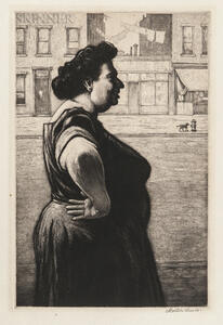 Martin Lewis (American, 1881-1962)      Boss of the Block