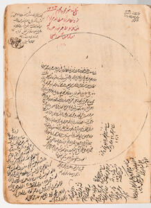 Arabic Manuscript on Paper. Kholasat' al-Hesab (Arithmetic Summary) and its Description, 1075 AH [1664 CE].