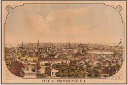 """City of Providence R.I."" Lithograph"