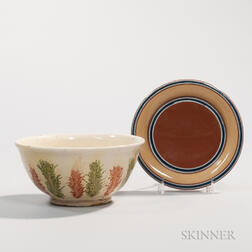 Red Earthenware Bowl and Twiffler