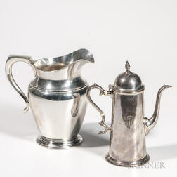 Two Pieces of Watson Sterling Silver Hollowware