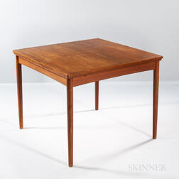 Teak Game Table