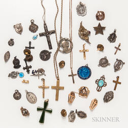 Group of Religious Jewelry