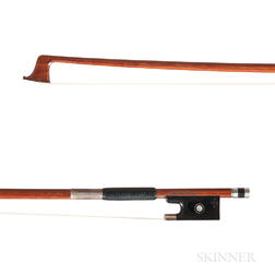 Silver-mounted Violin Bow, Richard Grünke