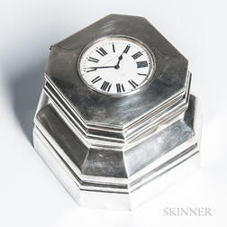 Black, Starr & Frost Sterling Silver Inkwell