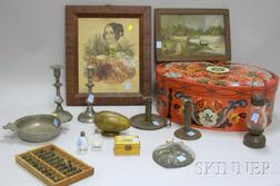 Fifteen Decorative and Collectible Americana and Folk Items