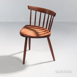 George Nakashima (1905-1990) Walnut Mira Chair