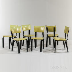 Six Thonet Side Chairs
