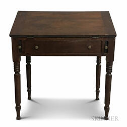 Country Cherry Schoolmaster's Desk
