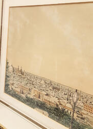 Two Framed Lithographs of Providence, Rhode Island