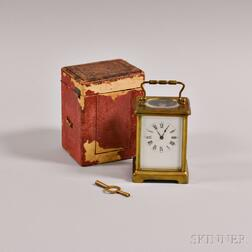 Time-only Carriage Clock
