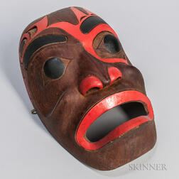 Contemporary Haida Mask by Richard Russell