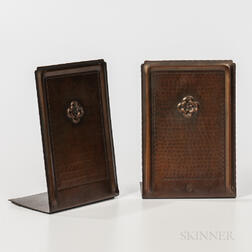 Roycroft Bookends