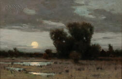 Charles Warren Eaton (American, 1857-1937)      Moonrise