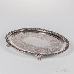 Jones, Ball & Poor Coin Silver Salver