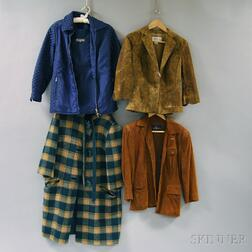 Assorted Group of Lady's Coats and Jackets