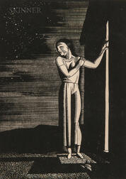 Rockwell Kent (American, 1882-1971)      Starry Night