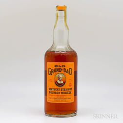 Old Grand Dad 4 Years Old 1964, 1 quart bottle