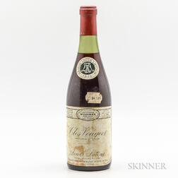 Louis Latour Clos Vougeot 1976, 1 bottle