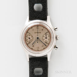 Wittnauer Stainless Steel Two-register Chronograph Wristwatch