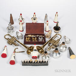 Group of Trumpet Accessories