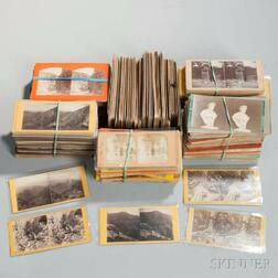 Approximately 600 Stereoview Cards