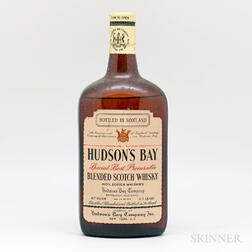 Hudsons Bay Special Best Procurable Blended Scotch Whisky, 1 4/5 quart bottle