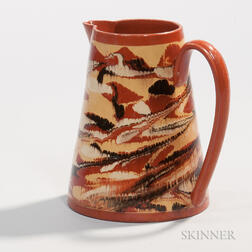 Red Earthenware Jug