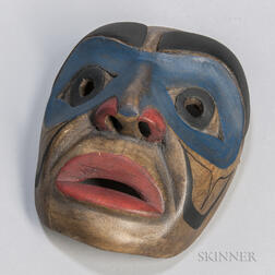 Contemporary Bella Coola Mask