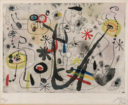 Joan Miró (Spanish, 1893-1983)      La main