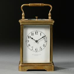 Carriage Clock Retailed by The Loring Andrews Co.