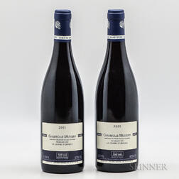 Anne Gros Chambolle Musigny La Combe dOrveau 2005, 2 bottles
