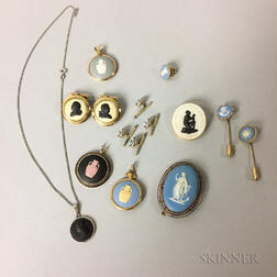 Small Group of Wedgwood Jewelry Items