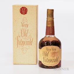 Very Very Old Fitzgerald 12 Years Old 1957, 1 4/5 quart bottle (oc)