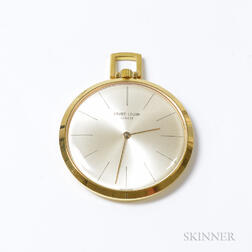Favre-Leuba Gilt-case Pocket Watch