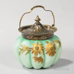 Mount Washington Crown Milano Biscuit Jar