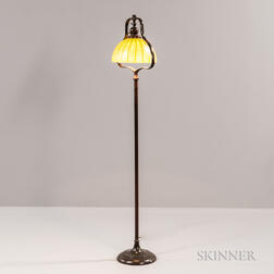 Handel Floor Lamp with Lundberg Studios Shade