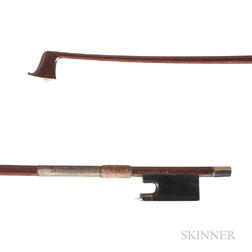 Silver-mounted Violin Bow