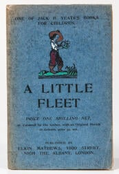 Yeats, Jack B. (1871-1957) A Little Fleet, One of Jack B. Yeats's Books for Children.