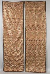 Four Brocade Panels