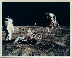 Apollo 11, Buzz Aldrin at Tranquility Base, July 11, 1969.