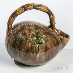 Palissy Ware Pitcher