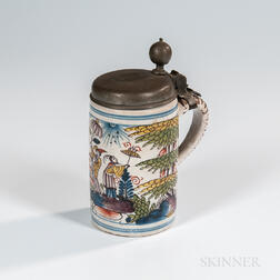 Erfurt Tin-glazed Tankard